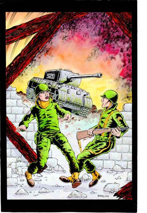 Graphic Novel Cover -