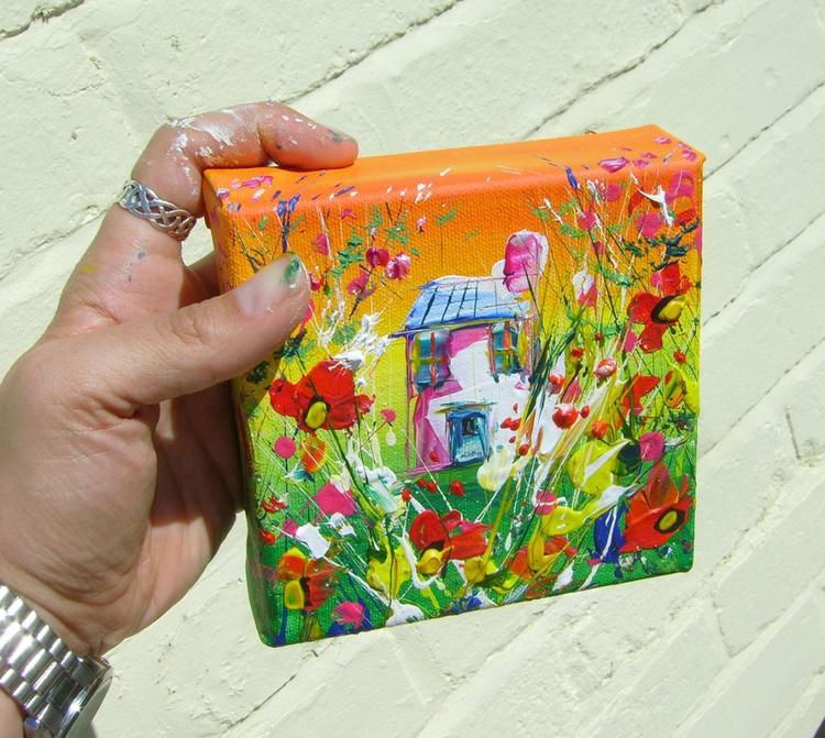 "Miniature art - ""Poppyfield Avenue"" - Image 0"