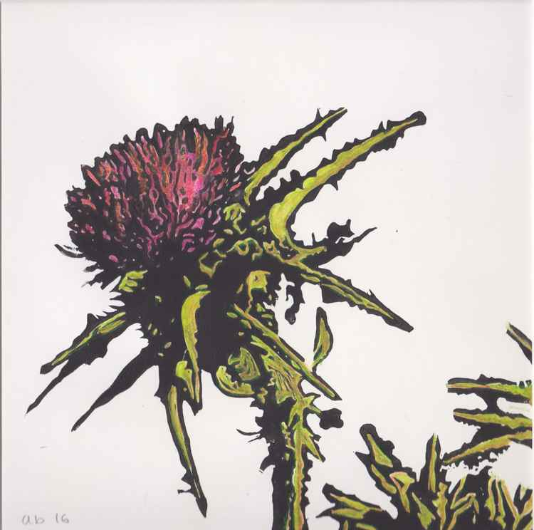 Spikes 5 - Scottish thistle -