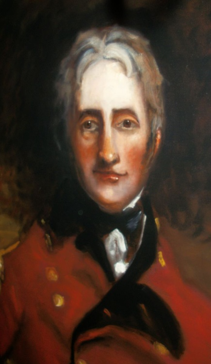 Man in Red Military Uniform (Oil on Canvas 30x20 inch) - Image 0