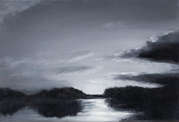Loire's Landscape in black and white - Image 0