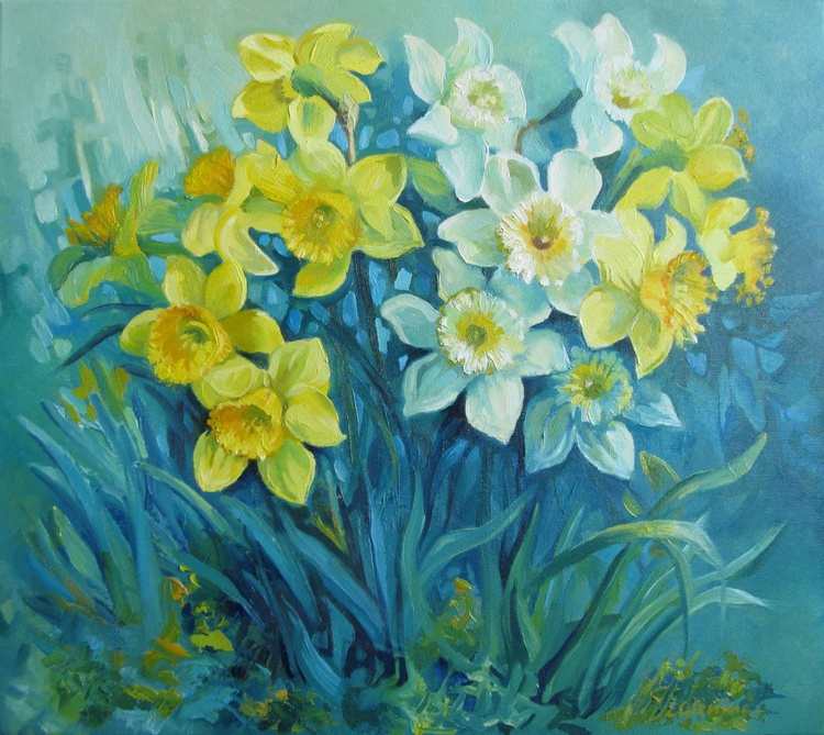Spring of daffodils - Image 0