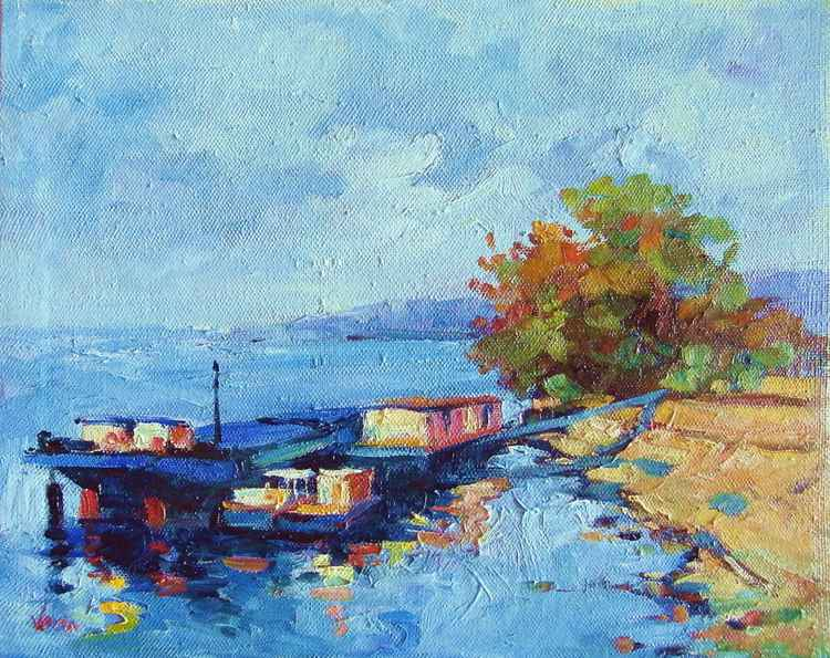 Boats on Danube -