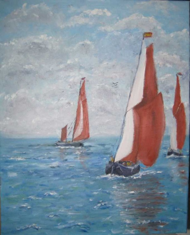 Thames Barges Racing - Image 0