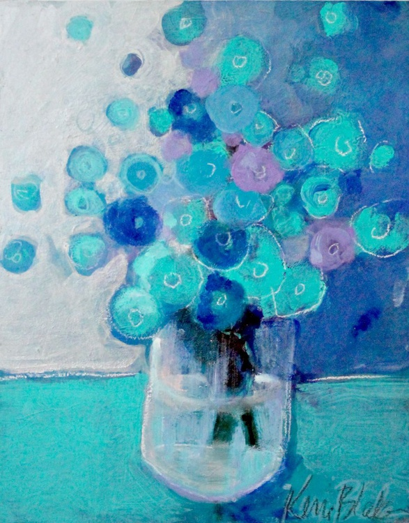 Bouquet in Blue - Image 0