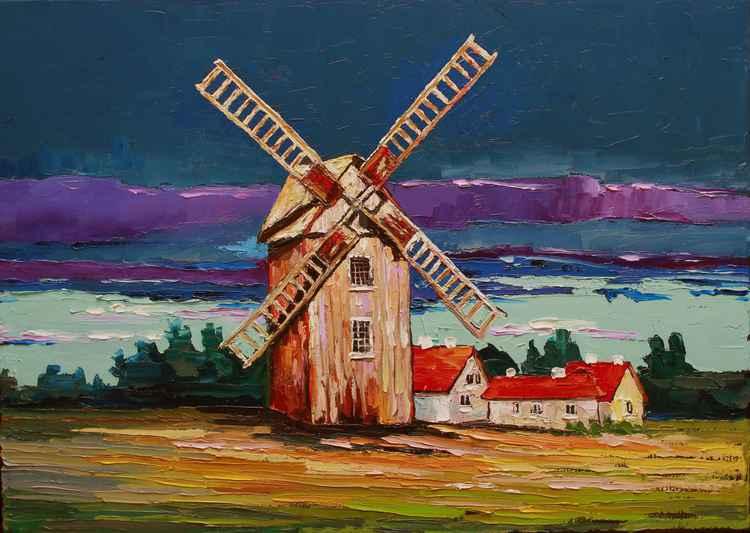 Old windmill -