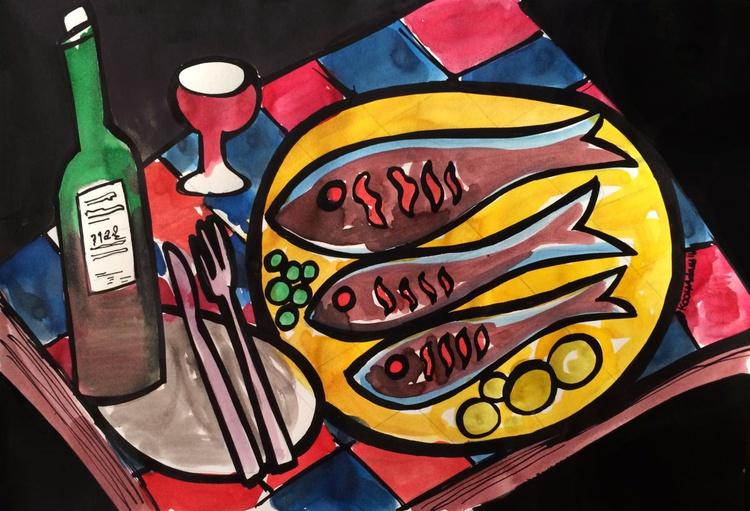 Platter of Fish - Image 0