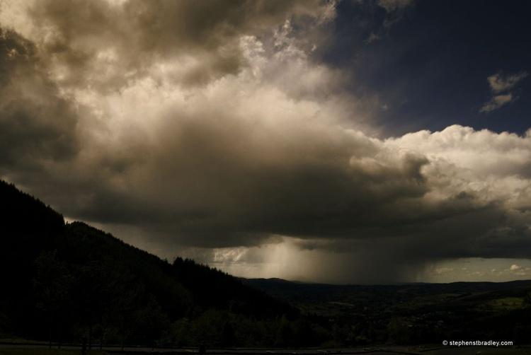 Storm clouds, Rostrevor - fine art landscape photograph of Ireland - Image 0