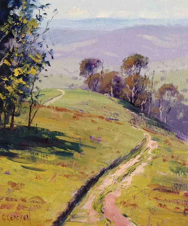Hilly Landscape Lithgow -