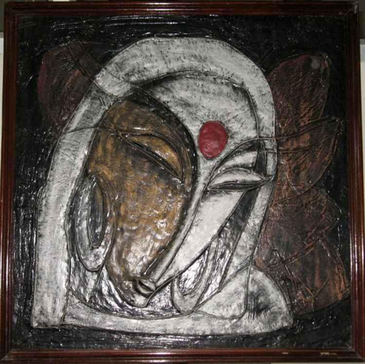 True Lies - Original Ceramic Painting -