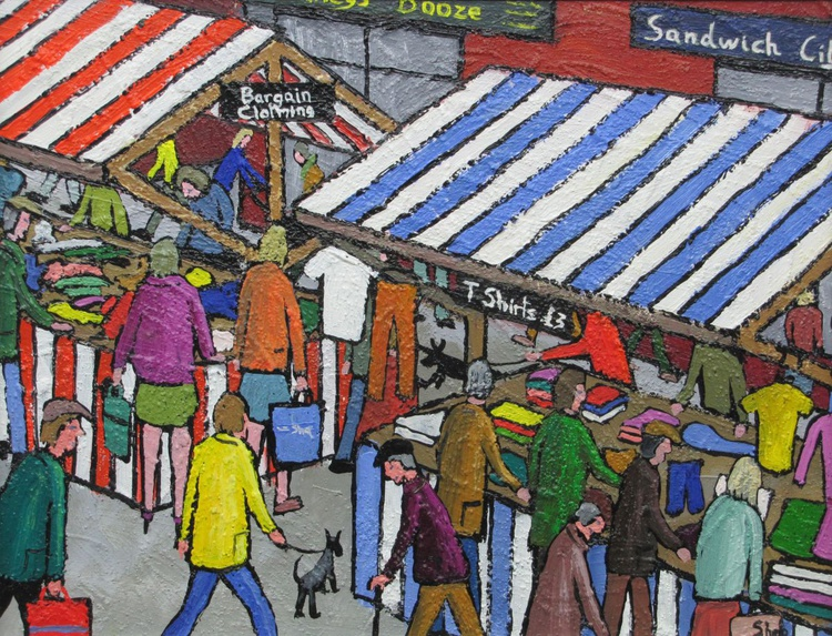 Busy Market - Image 0