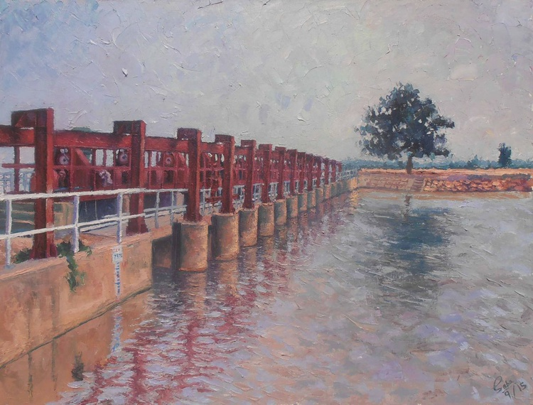 Bridge at Naro Canal Sanghar - Image 0
