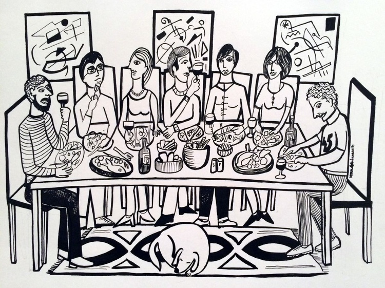 'The Dinner Party ' - Image 0