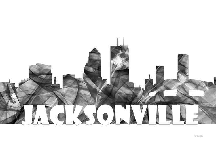 Jacksonville, Florida Skyline BG2