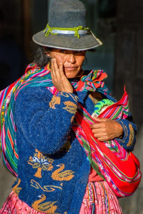 Cusco Woman 1 (Peru)  - Limited Edition Print - Image 0