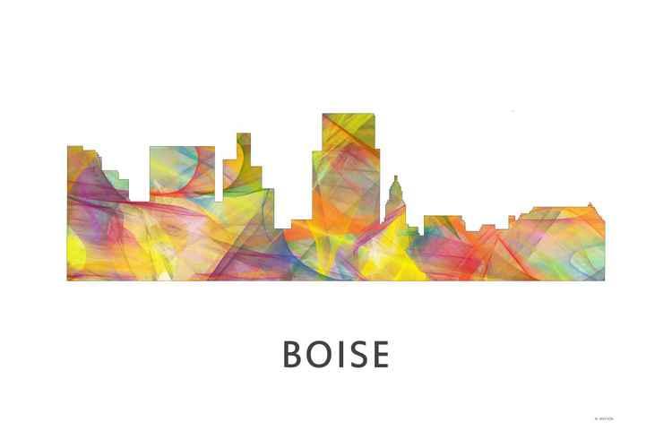 Boise Idaho Skyline WB1 -