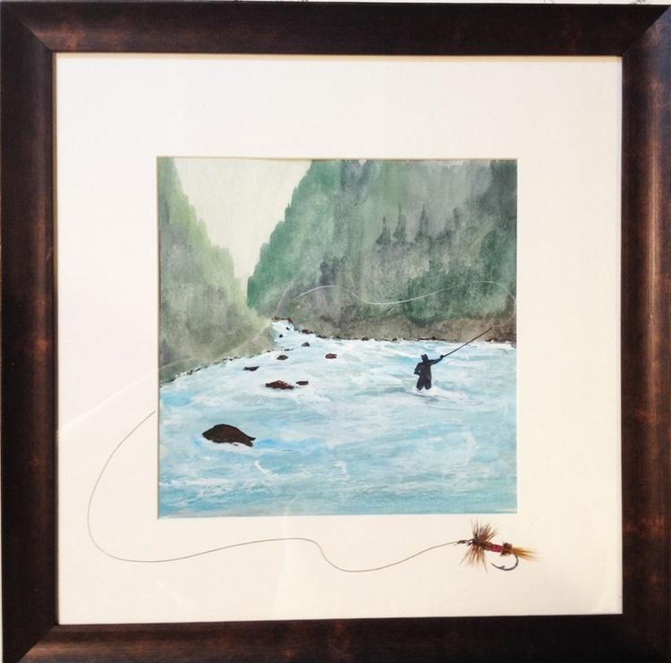 """"""" Flyfishing Paradise #01 """" - Image 0"""