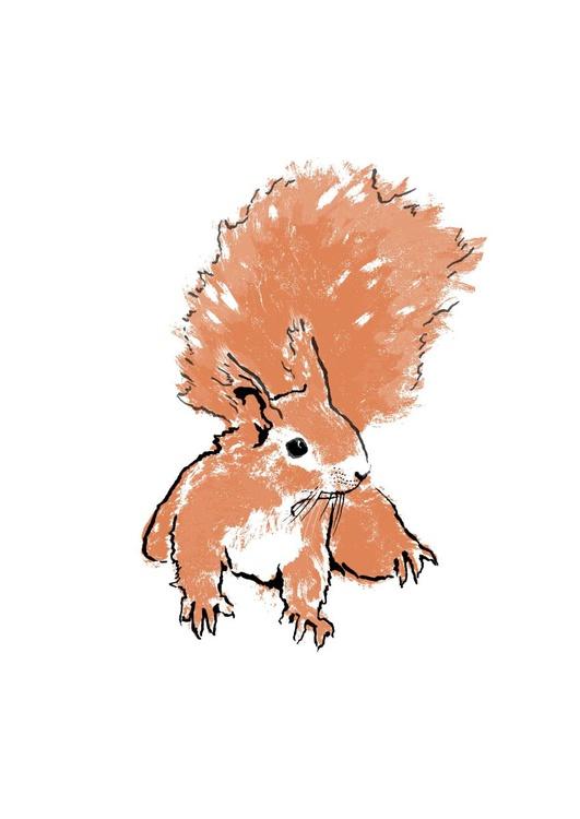 Copper Squirrel I - Image 0