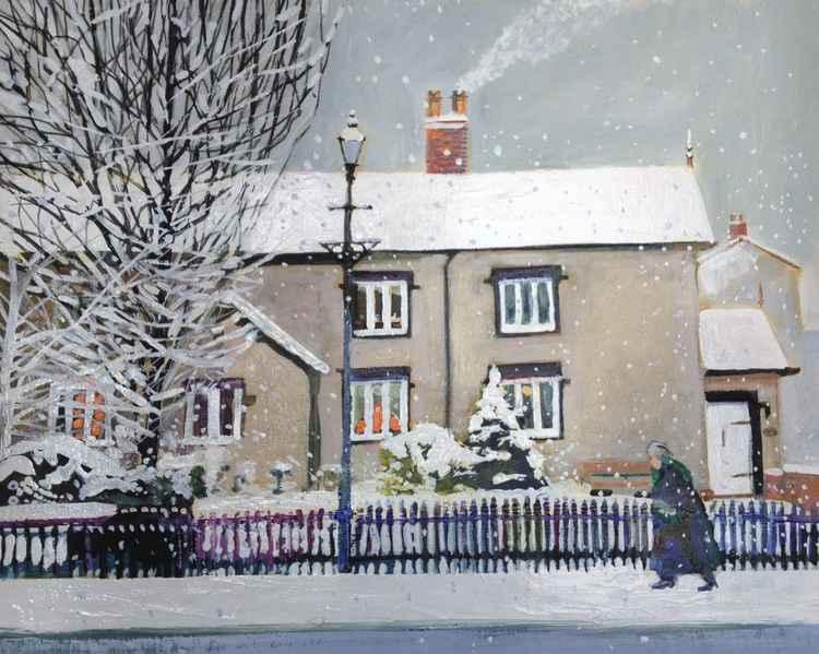 Snow in Lytham