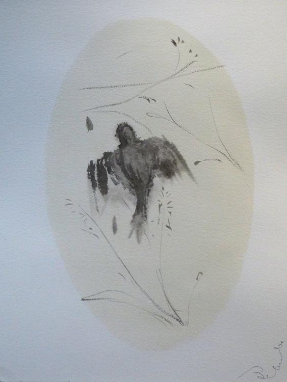 Birds of Carros #31, 31x41 cm - Image 0