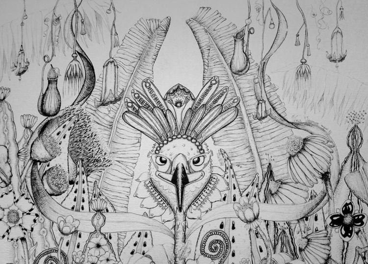 Garuda Homme-Oiseau Fabuleux - Image 0