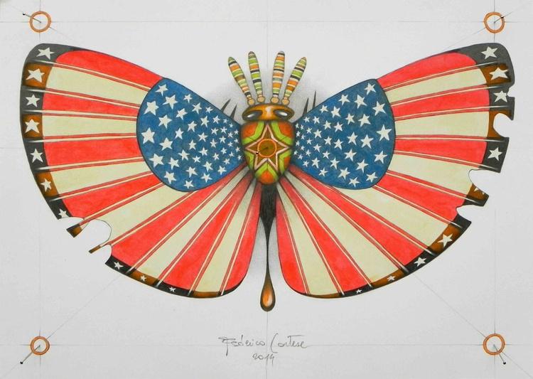 patriot moth - Image 0