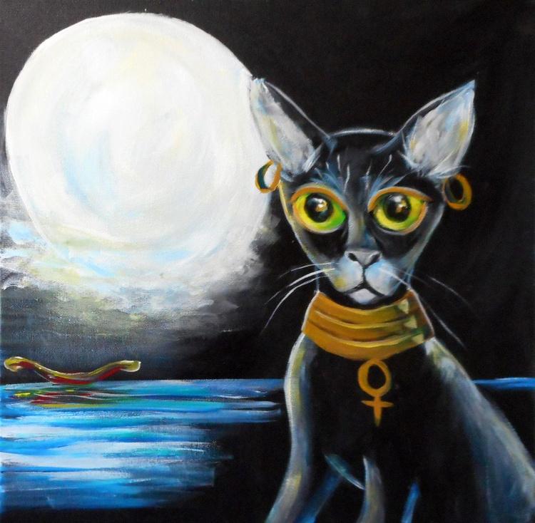 Bast Cat Goddess - Image 0
