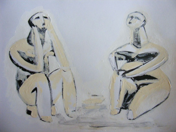 The tinker of Hamangia and the sitting woman - Image 0