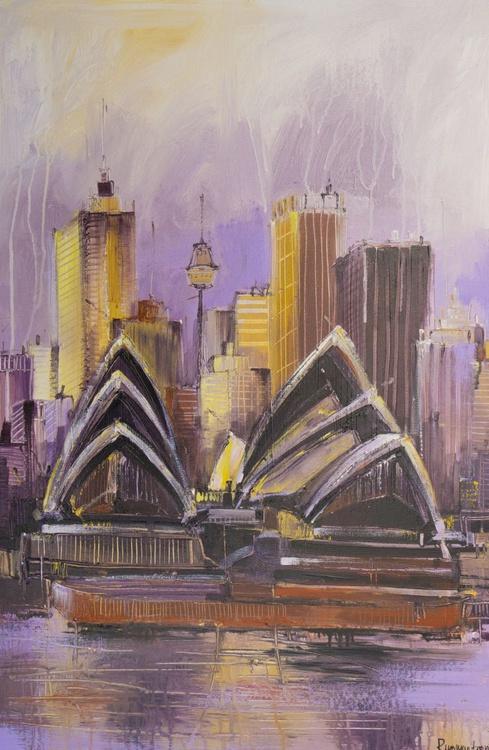 Sydney Opera House - 90cm x 60cm, ready to hang - Image 0