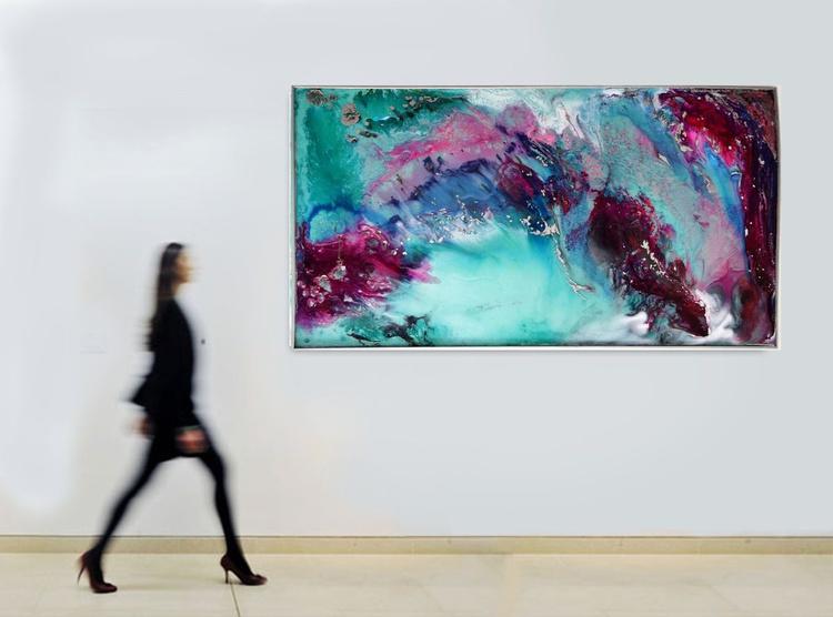 Where do we go now? / 122 x 66 cm - Image 0