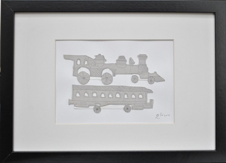A Piece From A Film - Train - Image 0