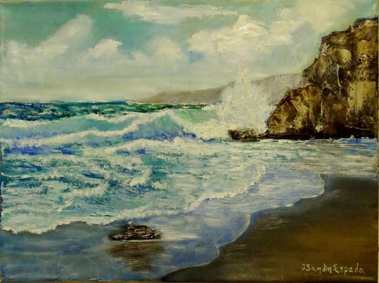 Olas rompientes- Breaking waves - Image 0