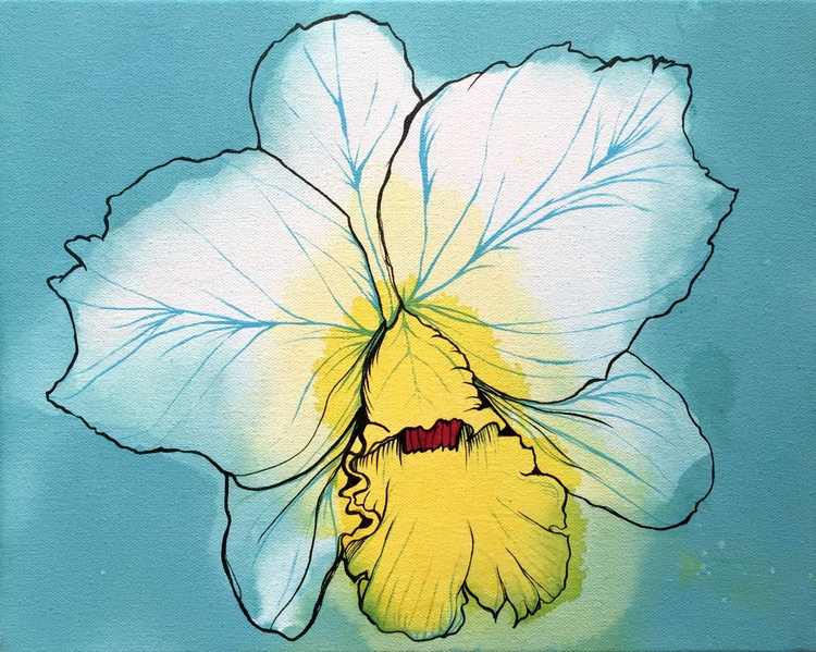 Orchid Study 003 - Image 0