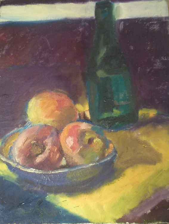 Still Life with Apples -