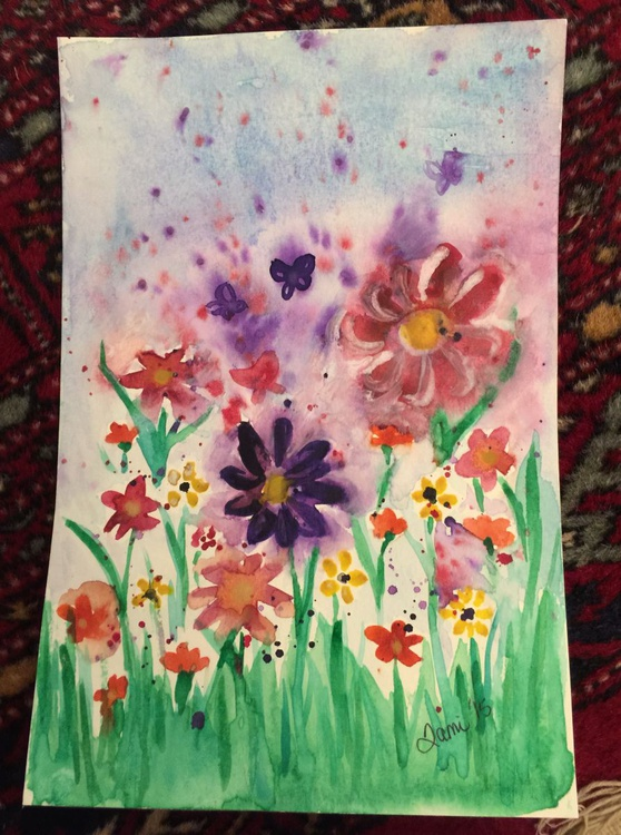 Flowers & Butterflies - Image 0