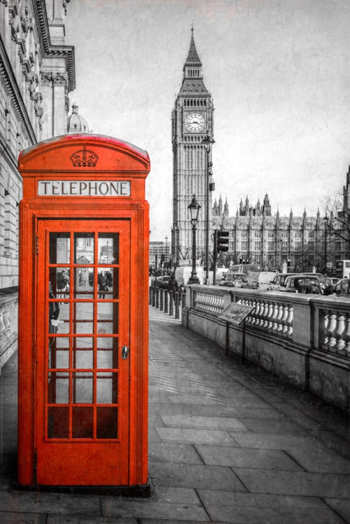 London Red Telephone Box - Image 0