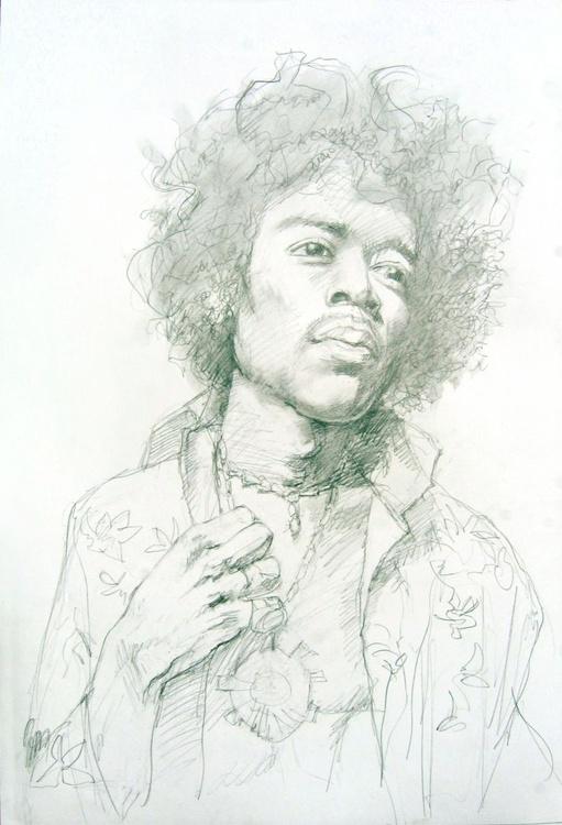"""James """" Jimi """" Mashall Hendrix - Image 0"""