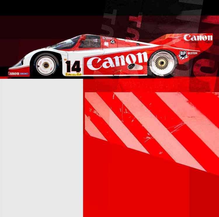 CANON PORSCHE 956 LEMANS -