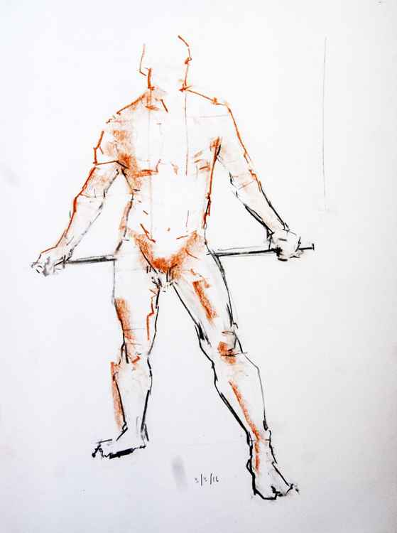 Life Drawing No 20 -