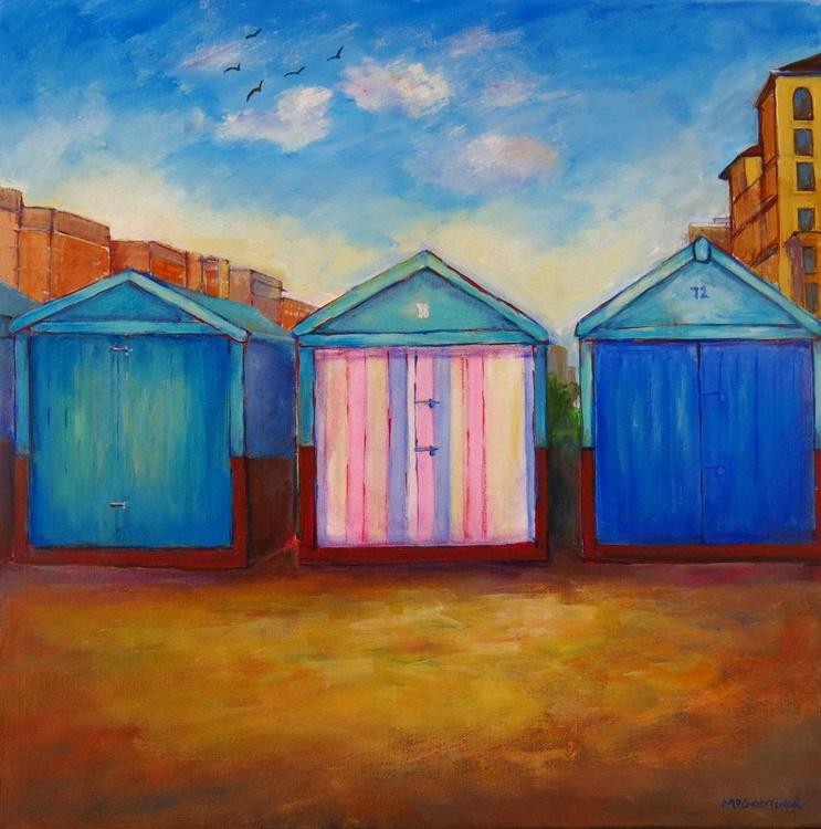 Three Brighton Beach Huts (Hove End) - Image 0