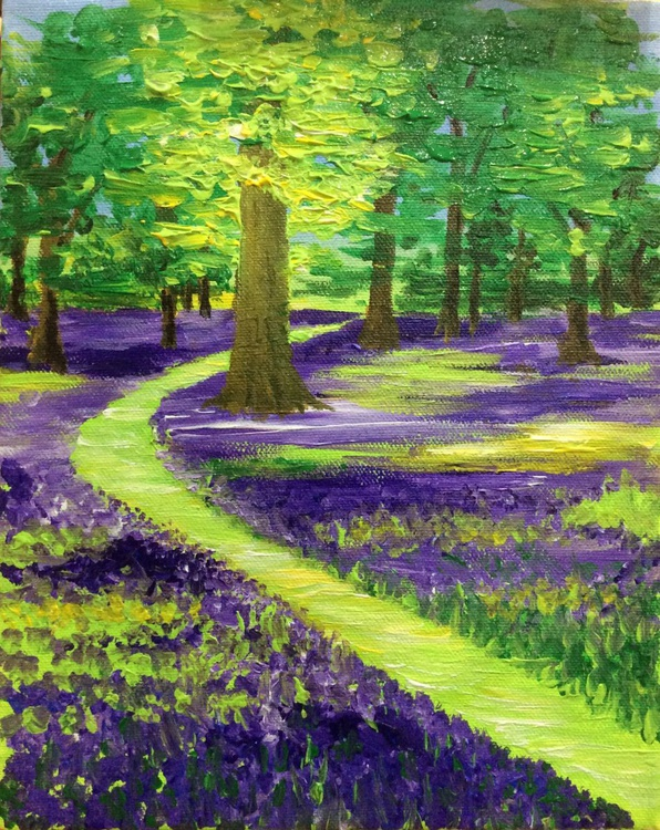 Bluebell Path 8 x 10ins - Image 0
