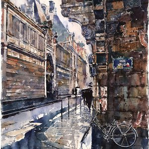 Rue Payenne, Paris by Michael Goro