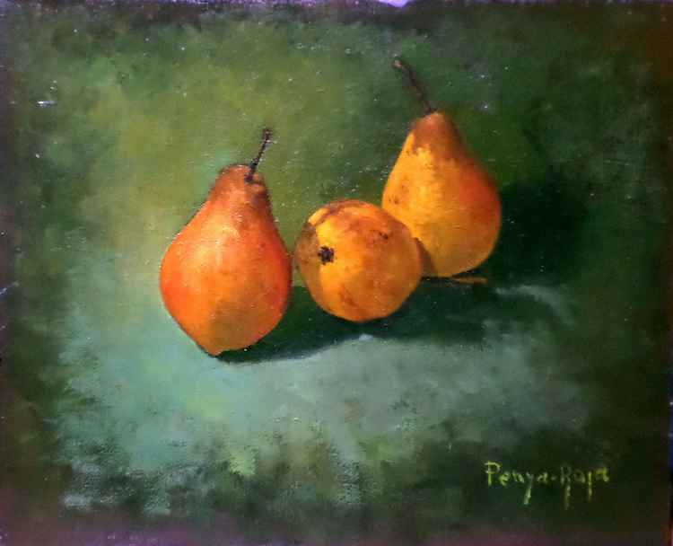 Three pears -
