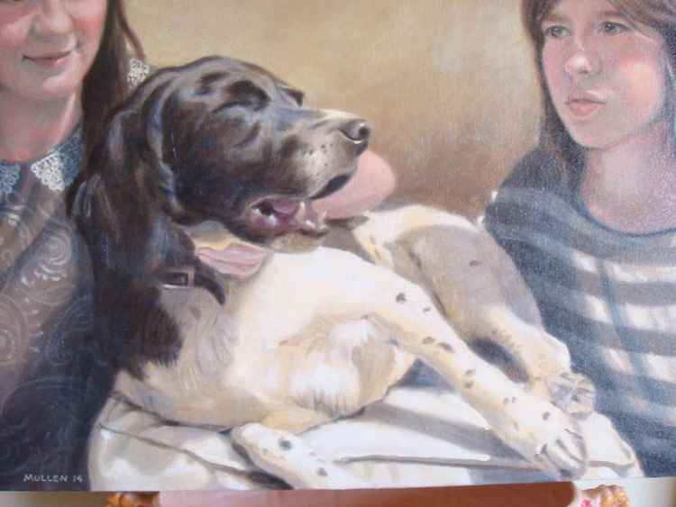 Pet portraits - COMMISSIONS WELCOME (deposit) -