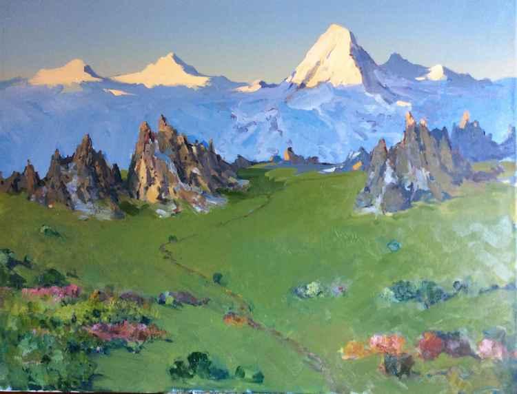 Tian Shan Mountains -