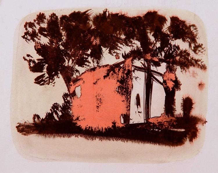 Transfigure 18, ink on paper 24x32 cm - Image 0