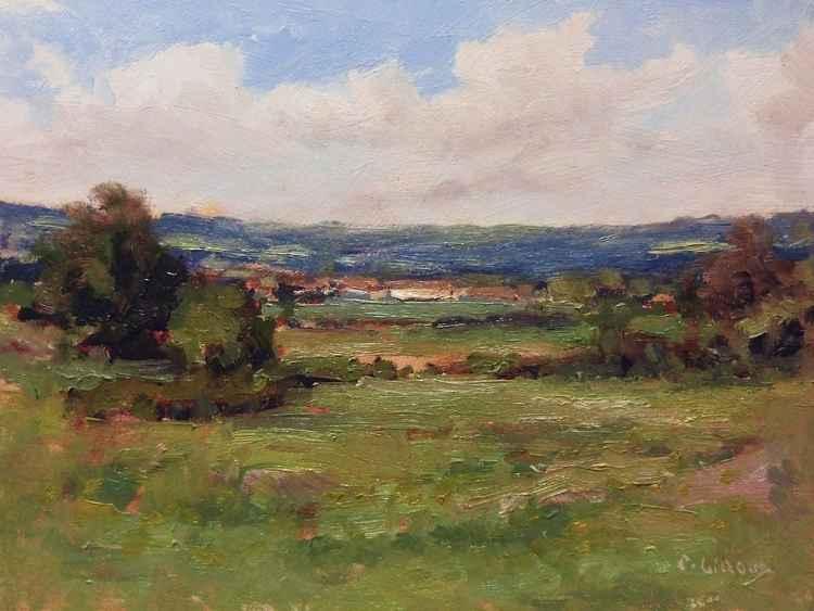 Landscape near Sisteron
