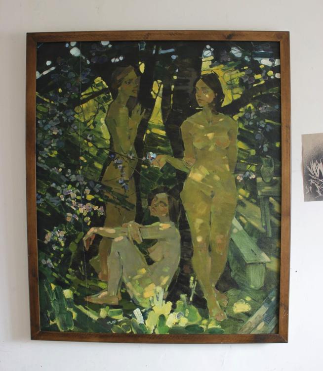 Garden. Flowering. 2015. oil on canvas. 120x100c. - Image 0