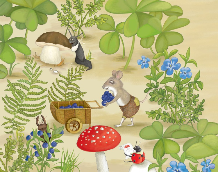 Mouse in the forest - Image 0