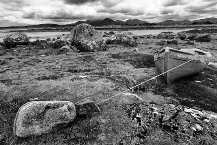 Wooden Fishing Boat  Connemara - County Galway Ireland -